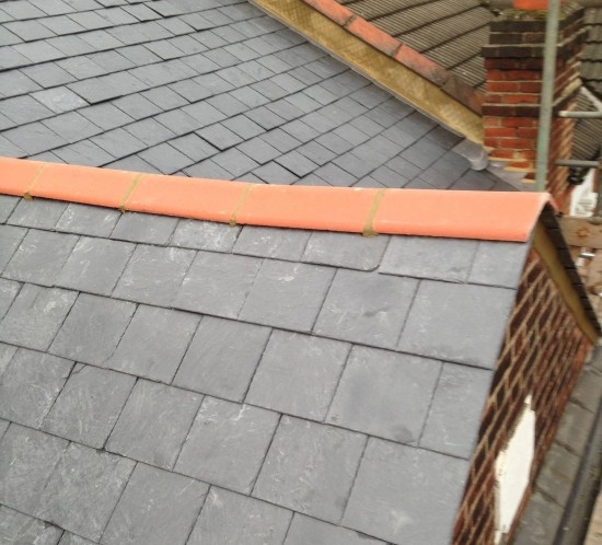 RE-ROOF NATURAL SLATE